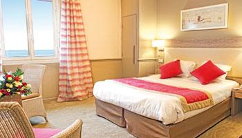 Chambre confort vue mer - Hôtel Royal Westminster Menton