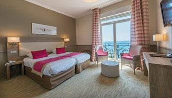 Chambre privilège vue mer - Hôtel Royal Westminster Menton