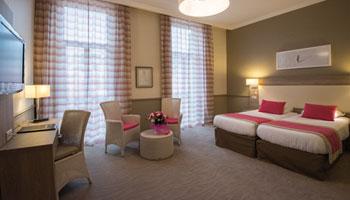 Chambre privilège vue ville - Hôtel Royal Westminster Menton