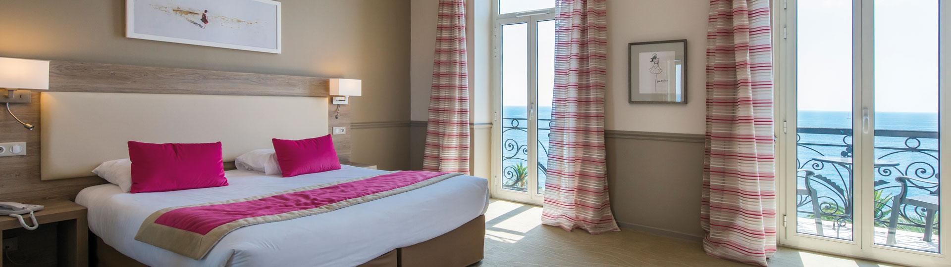 Chambre Confort vue mer - Hôtel Royal Westminster