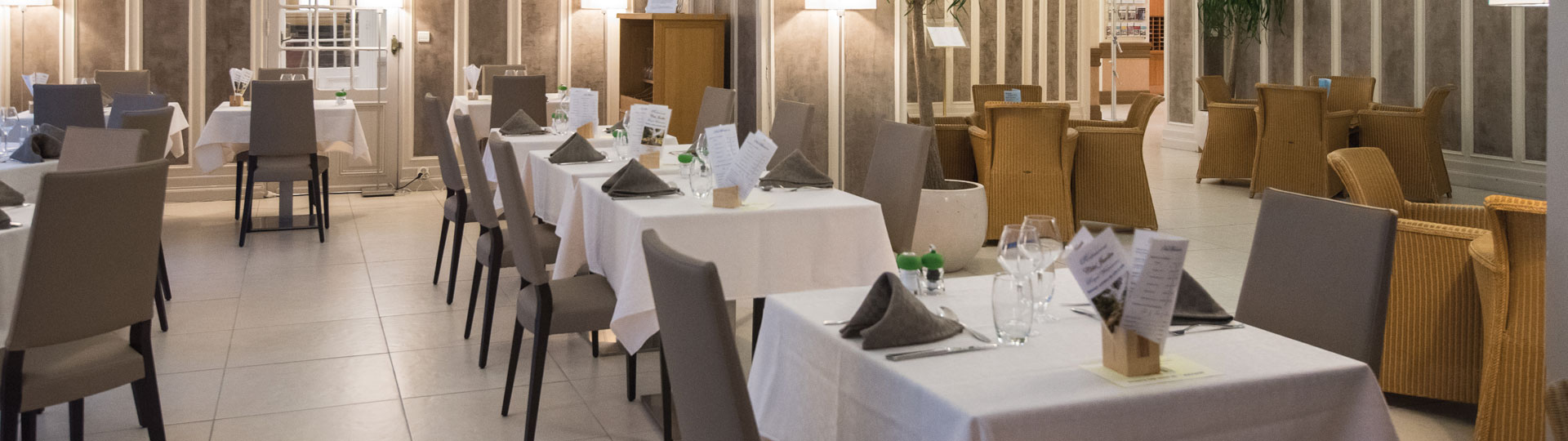 Restaurant Côté Jardin - Hôtel Royal Westminster