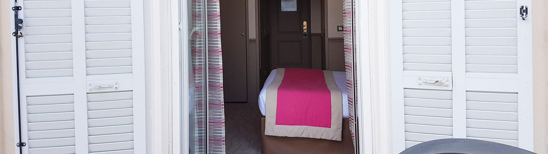 Chambre standard vue mer - Hôtel Royal Westminster