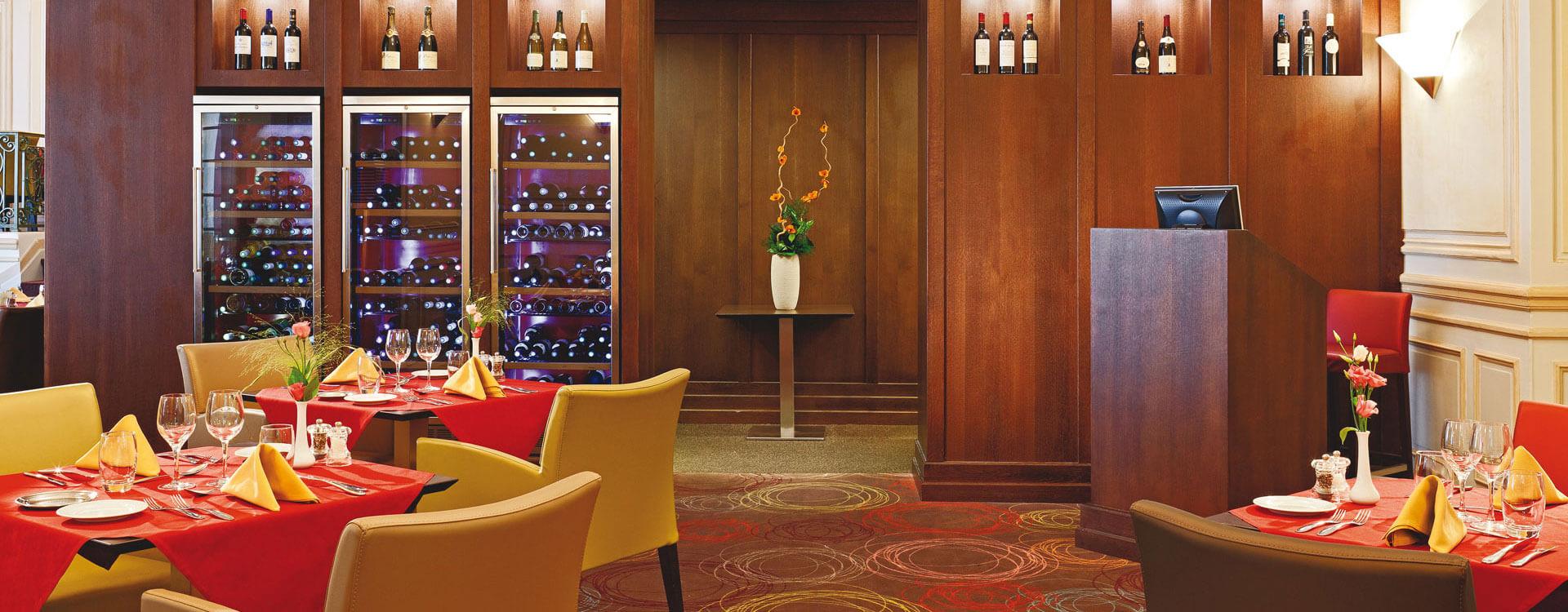 Restaurant le Westminster - Hôtel*** Royal Westminster à Menton