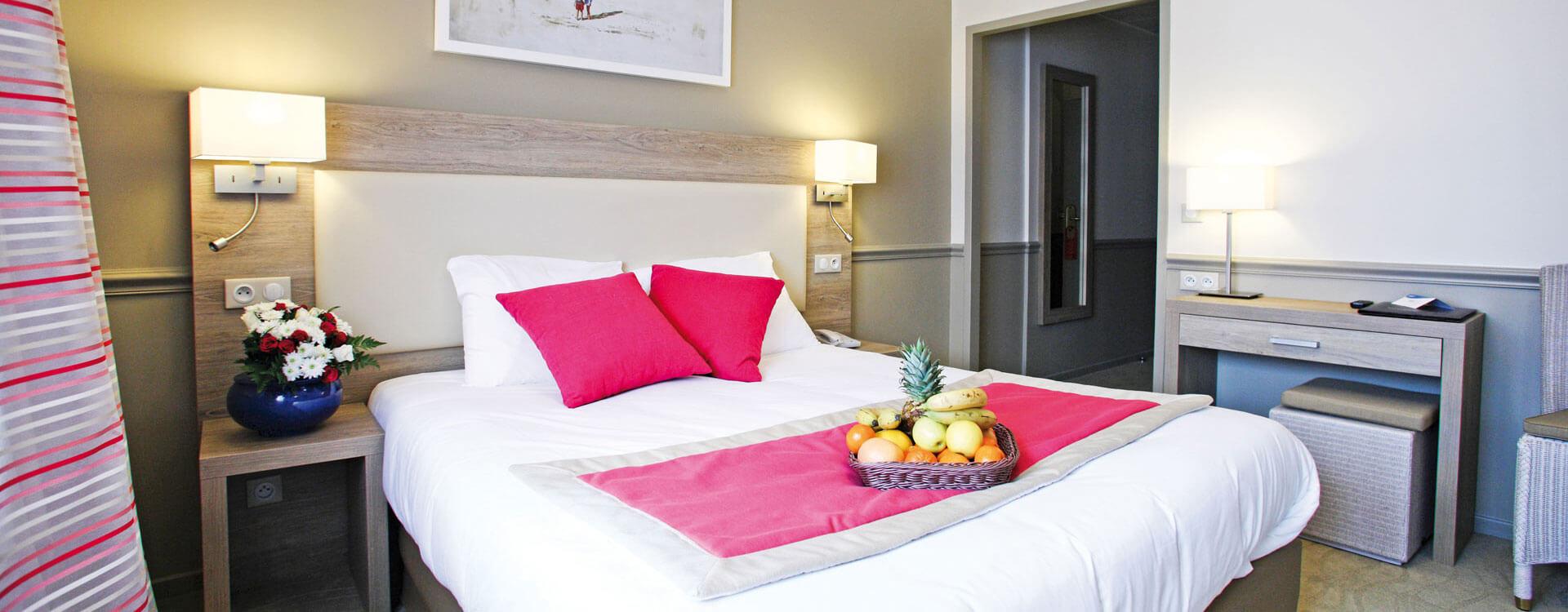 Chambre confort vue ville - Hôtel*** Royal Westminster à Menton