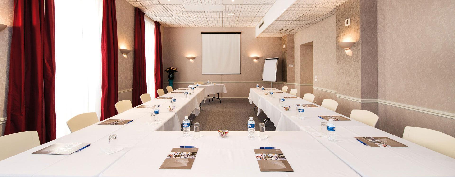 Salle de réunion - Hôtel*** Royal Westminster à Menton