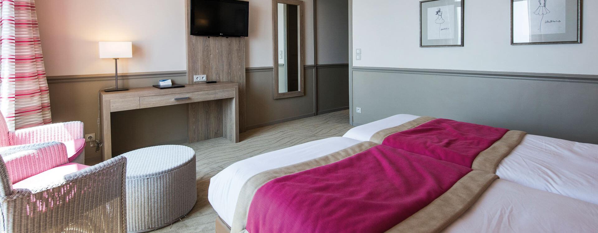 Chambre confort vue mer - Hôtel*** Royal Westminster à Menton
