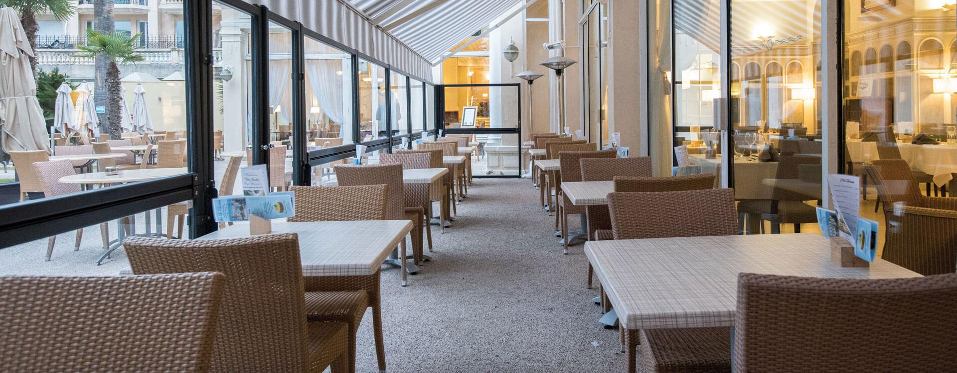 Restaurants - Hôtel*** Royal Westminster à Menton