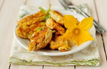 beignets de fleurs - specialite menton
